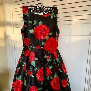 Sweet Heart Rose High/Low Formal Kids Dress Size 6